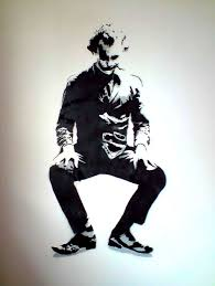 joker stencil by docikon wall by docik with wall painting stencils free download on wall art stencils free with wall painting stencils free download wall painting stencils free