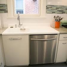 retro style kitchen renovation we repurposed this vintage