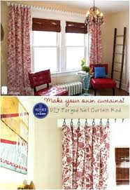alternative to curtain rods forged nail rod and hooks that give you gorgeous style on a
