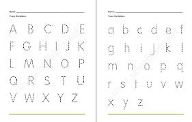Free Traceable Alphabet Worksheets   Printable Shelter