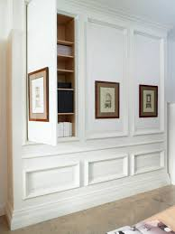 storage behind wall panel