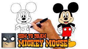 Cách vẽ chuột Mickey mới nhất 2021 - Vẽ.vn