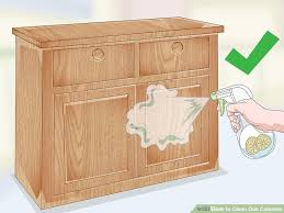image titled clean oak cabinets step 1