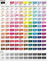 Sakura Poster Color Chart 427 Best Artistic Color Palettes Images In 2019 Color