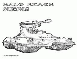 Small Picture Interesting picture collection of halo 5 coloring pages proper