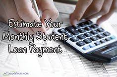 payment calculator student loan student loan repayment calculator calculators pinterest