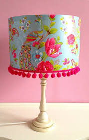 lamp shades with flowers brandnew colorful fl design ideas blue 19