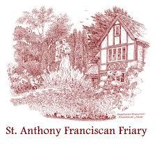 monastery logo maroon name png