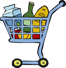 Resultado de imagen de compras dibujo
