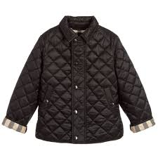 Boys Black 'Luke' Jacket | Childrensalon & Burberry - Boys Black 'Luke' Jacket | Childrensalon Adamdwight.com