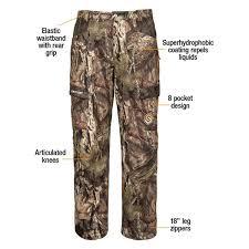 Scentlok Size Chart Scentlok 1401800 Full Season Taktix Pants