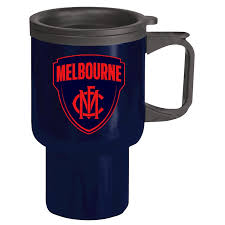 Check out our coffee tumbler with handle selection for the very best in unique or custom, handmade pieces from our drinkware shops. Melbourne Demons Afl Steel Thermal Insulated Travel Coffee Mug Cup Handle Gift Mugs Rateshop Coffee Mugs