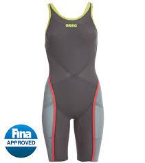 Arena Womens Powerskin Carbon Ultra Open Back Tech Suit Swimsuit