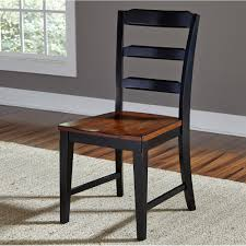 Black Wood Dining Chairs Avalon Wood Dining Chairs Set Of 2 In Black Cherry Humble Abode
