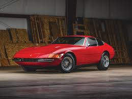 Design And Consign South Daytona Rm Sothebys 1971 Ferrari 365 Gtb 4 Daytona Berlinetta By