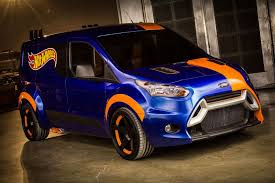2014 Ford Transit Connect Gets New Look Courtesy of Hot Wheels ...