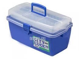 Купить <b>Рыболовный ящик Meiho</b> City Luck 75 Blue по низкой цене ...