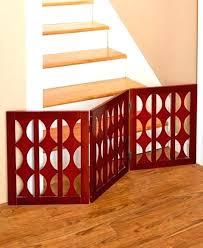 wood pet gate freestanding wooden dog gates indoor uk north states x wide swing animal