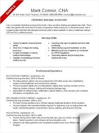 Nursing Assistant Resume Inspiration 8513 Cna Resume Sample Resume Examples Pinterest Nursing Resume With