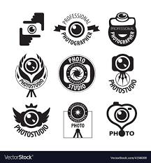 Photographer Logos Big Set Of Logos For Professional Photographer