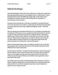 engelsk essay school shootings skolehjælpen dk engelsk essay school shootings