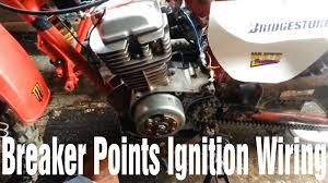 diy ignition wiring small older honda dirtbike