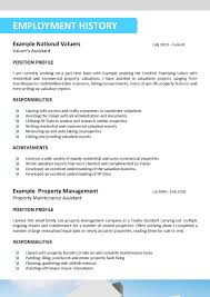Gallery Of Real Resume Examples