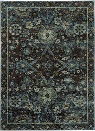 sphinx oriental weavers area rugs andorra 7124a casual navy by free at