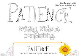 Small Picture printable fruit of the spirit patience coloring pages Google