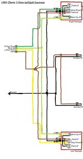 1994 chevy silverado tail light wiring diagram wire center \u2022 1994 chevrolet silverado wiring diagram silverado tail light wiring diagram releaseganji net rh releaseganji net 1994 chevy 1500 tail light wiring