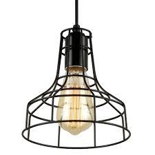 journee lighting. Journee Home \u0027Blackpool\u0027 Iron 7-in Hard Wired Edison Bulb Included Pendant Lamp Lighting U