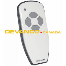 marantec 4 on transmitter glossy white 315 mhz 122989
