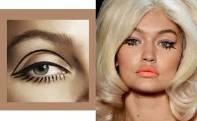 graphic drawn on lashes why do we love them these rock n roll doll lashes are a dream you will need a steady hand and a little patience to plete these