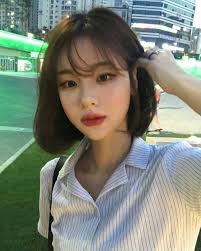 But, what's better is their hair! Ulzzang Korean Short Hair Bangs Korean Short Hair Asian Short Hair