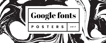 Fonts Posters Typothursday X Google Fonts Posters Design And Paper