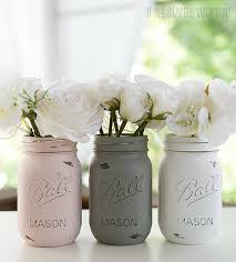 Ball Jar Decorations Classy How To Paint And Distress Mason Jars
