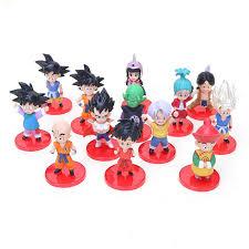 <b>13pcs</b>/<b>set</b> Anime <b>Dragon Ball</b> Z Son Goku Gohan Chichi Super ...