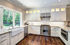 avondale white kitchen cabinets by robert paige cabinetry