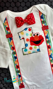 Elmo Birthday Baby Boy Birthday Boy 1st Birthday Party Sesame
