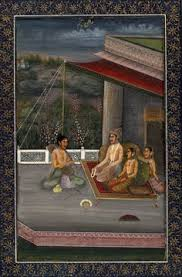 ragini panchma part of a ragamala opaque watercolor on paper india mughal