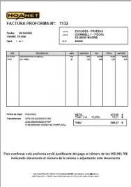 Formato De Factura De Exportacion Requisitos De Una Factura Proforma Modelo Factura