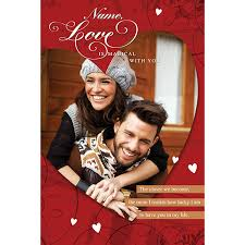 love is magical personalised greeting card