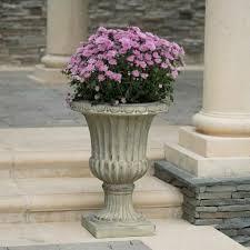 outdoor urn planter 26 inch antique