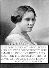 Madam Cj Walker Quotes Cool Madame C J Walker Inspiring Thoughts Pinterest Inspirational