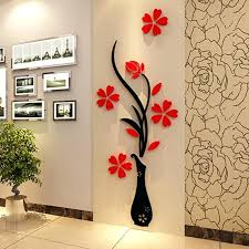 wall painting design wonderful new wall paint design plum vase wall stickers home decor creative wall wall painting design