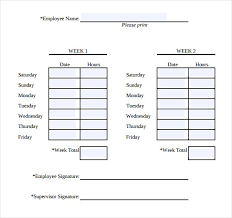 Time Sheet Doc Simple Weekly Timesheet 13 Simple Timesheet Templates