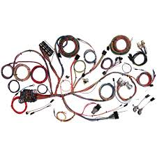 american autowire 510055 mustang complete wiring kit 1967 1968 fox body wiring harness diagram at 1994 Mustang Wiring Harness