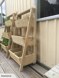 creative things to do with pallets. wooden 3 tier planter box more creative things to do with pallets