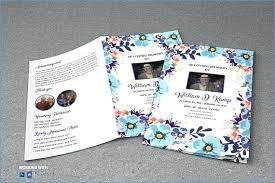 microsoft office funeral program template printable flower funeral program template microsoft office leaflet