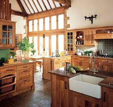 Plain Kitchen Design Ideas Country Style Inside